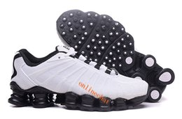 Wholesale men tenis shoes - Cheap Men Running Shoes Avenue Shox TLX Fashion Leather Tenis Hombre Breathable Athletic Outdoor Sneakers Tennis Shoes