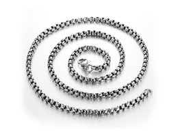 Wholesale indian cube - Cube Chain 925 Sterling Silver Women Fine Jewelry 60cm Box Chain Snake Chain for Making Necklace