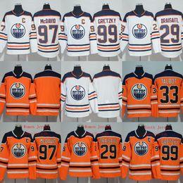 Edmonton Oilers  97 Connor McDavid  99 Wayne Gretzky  29 Leon Draisaitl  33  Cam Talbot Men Women Youth 2017-2018 Season Hockey Jerseys eb1edbbf0