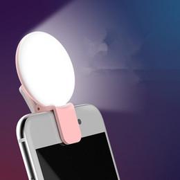 Fabricantes de lámparas online-El fabricante que carga la luz al aire libre del anillo del selfie de la lámpara del selfie del relleno de la belleza del flash LED recargable para todo el teléfono móvil
