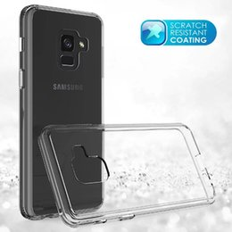 Wholesale Galaxy S4 Case Rose - mobile phone Transparent cover for A8 2018 S8 active soft TPU cover Acrylic hard case for Samsung galaxy S4 S5