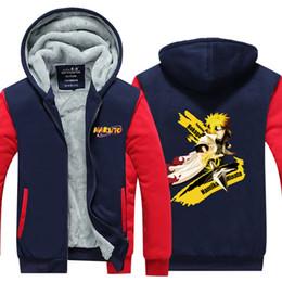 0aaefef98361 Anime Naruto sweatshirt Zipper Jacket 2018 spring winter men jacket fashion hoodies  men coat for anime fans discount jacket anime naruto