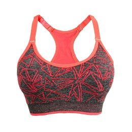 55bbf0fa971ff Women Bra Sport Fitness Sexy Bra Vest Summer Push Up Bras For Running Gym  Women Crop Tank Tops Bralette Plus Size Outdoor