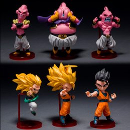 2020 figure gotenks Dragon Ball Z Figuarts Zéro Fils Goku Vegeta Kamehameha Super Saiyan 3 Gotenks Majin Buu Esprit Action Figurine Bombe promotion figure gotenks