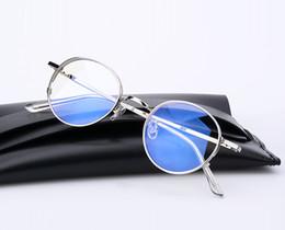 2017 Nova Moda Vintage Rodada Armação De Metal Caro Clássico Óculos de Marca Suave prescrição Computador Eyewear Quadro Oculos De Grau supplier round metal prescription glasses de Fornecedores de óculos redonda de metal