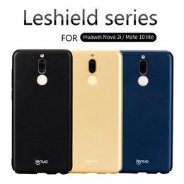 Wholesale Nova Pc - Huawei Mate 10 Lite Case Huawei Nova 2i Case Lenuo Brand Le-Shield Hard PC Back Cover Honor 9i Case