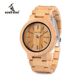 Wholesale Oem Ebony - 100% Ebony Wooden Watch Wood Casual Quartz Luxury Watches Natural Wood Wristwatches Leather Straps retail gifts box Accept Customization OEM