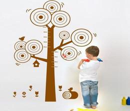 Envío gratis venta caliente 2015 tatuajes de pared árbol etiqueta de la pared en la pared Arte gráfico de crecimiento para niños habitación PVC / DIY diseño decoraciones para el hogar desde fabricantes