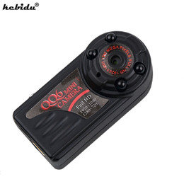 Wholesale Ir Motion Detectors - kebidu HD 1080P QQ6 Mini Camera Mini DV Motion Detector IR Night Vision DV DVR Cam Micro Camera Webcam Camcorder VS SQ8