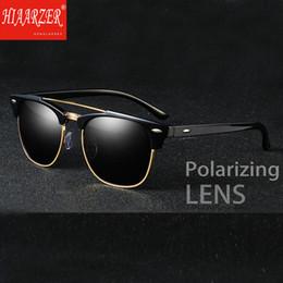 0e4911c8d3 Luxury Men s Classic Vintage Polarized Sunglasses Polaroid Lens Unisex Sun  Glasses Driving Travel Eyewear Oculos De Sol With Box