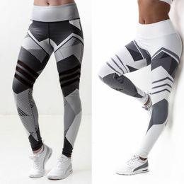 Wholesale Digital Printed Leggings - Womens Pants Digital printing high waisted Leggings casual Yoga printed Leggings High Quality Cheap Sale