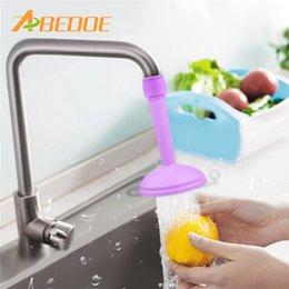 Wholesale Regulator Filter - ABEDOE Sprinkler Head Kitchen Faucet Splash Water Filter Regulator Extender Spill Water Saving Tap Valve Shower Filter