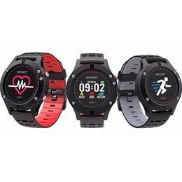 Wholesale green screen support - F5 Bluetooth Watches Heart Rate Incoming Call With Round Screen Support IOS Andorid System Wristband GPS With 350mAh Battery Smartwatch