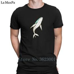 Canada Créature Tee Shirt Élégant Whale Mens T-Shirt Nouveaux Vêtements Tee Shirt Pour Hommes De Haute Qualité T Shirt Euro Taille S-3xl Photos Offre