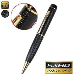 Wholesale Hidden Camera Real - Mini Hidden Camera Pen-HD 1080P Spy Pen Recorder Real Video Pen Camera Multifunction Writing Pen with Camera