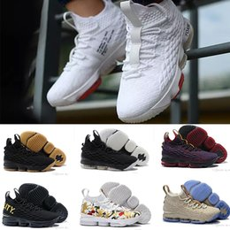 Wholesale Good Tvs - high quality LeBRON 15 Men's Basketball Shoes star good seller Sneakers 15s High Cut Mens Casual Shoes James 15 Training Sneakers play