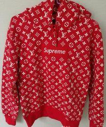 Wholesale H Cotton - Famous design Sweatshirt High Quality Cruz Backham Fans Made Fashion Men Women Hoodie Casual Brown Red Sweatshirt Streetwear Hoodymens hip h
