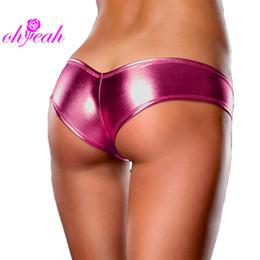 Wholesale Leather Underwear For Women - PL5013 Ohyeah New Design Plus Size Panties For Women Underpants Women Sexy Leather Panties Excellent Quality Underwear Briefs