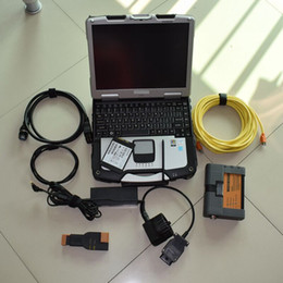Wholesale russian used cars - diagnostic system car diagnostic service for bmw icom a2 with ssd 480gb with laptop cf30 ram4 ready to use