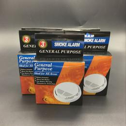 9v батареи Скидка Детектор дыма сигнализация датчик пожарной сигнализации Отдельностоящий беспроводные детекторы домашней безопасности высокая чувствительность стабильной LED 85DB 9 в батареи