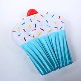 Canada Ligne flottante gonflable en forme de gâteau résistant à l'usure PVC résistant à la natation anneau de piscine sécurité facile à transporter bouée de sauvetage Vente chaude 65bq Y cheap easy floats Offre
