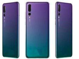 2019 senioren handys Gebogener Bildschirm P20 Pro 3 Kameras Android 8 P20pro 1 GB / 4 GB Zeigen gefälschte 4 GB RAM 128 GB ROM Gefälschte 4G LTE-Handy entriegelt DHL