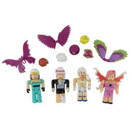 Фигурки игрушки 2 стили OPP мешок Roblox виртуальный мир roblox строительный блок кукла с аксессуарами два цвета коробка упаковка мешок от