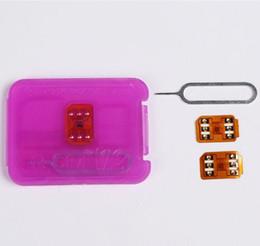Wholesale Unlock Sim For Cdma - Rsim 12+ r sim 12+ RSIM12+ iphone unlock card for iPhone 8 iPhone 7 plus and i6 unlocked iOS 11.x-7.x 4G CDMA GSM WCDMA SB AU SPRINT