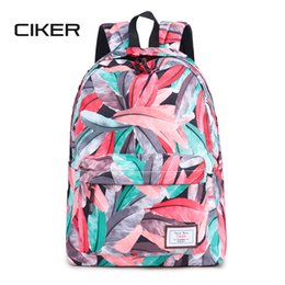 cute back school bags Promo Codes - CIKER New Fashion Preppy Style Women  Backpack Ladies School f9cbdbc656328