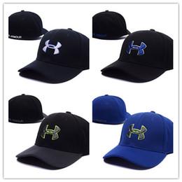 Ua спорта онлайн-Новый горячий бренд UA Snapback бейсболка под шляпу спорт хип-хоп шапки камуфляж камуфляж регулируемые шляпы броня Мужчины Женщины Casquette