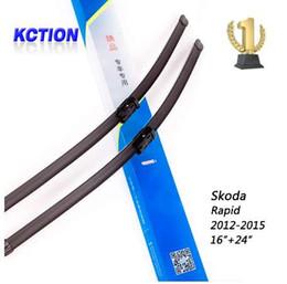 accessoires pour skoda Promotion Balai d'essuie-glace de voiture pour Skoda Rapid (2012-2015), 16