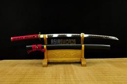 crânes de cuivre en laiton Promotion COLLECTION ÉPÉE pour décorer 100% Forgé à la Main Prêt à Battre Full Tang T10 1095 Acier au Carbone Japonais Dragon Samurai Katana Ninja Épée # 1401