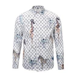 2019 canottiere di lana Camicie da uomo con stampa a maniche lunghe da uomo di design di Medusa 3D, camicie casual a maniche lunghe da uomo, formato 2XL
