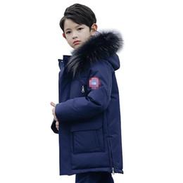 Top Winter Daunenjacke Parka für Mädchen Jungen Mäntel Jungen Daunenjacken Kinderkleidung für Schnee tragen Kinder Oberbekleidung Mäntel von Fabrikanten