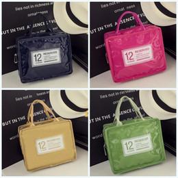сумки для обеда Скидка Новый шаблон Candy Color Storage Bags Water Proof Heat Preservation Lunch Bag Портативный изолированный 12Reserved Anti Scald Handbag 10lc ff