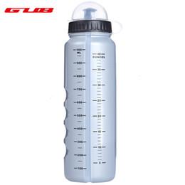 Argentina GUB 1000ML Botella de bicicleta a prueba de fugas Contenedor de agua Accesorio de ciclismo al aire libre con cubierta transparente Suministro