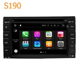 Wholesale Car Nissan Patrol - Road Top S190 Android 7.1 System Quad Core CPU 2 Din Car Radio DVD Player GPS Navigation Head Unit for Nissan Pathfinder Patrol Rogue Juke