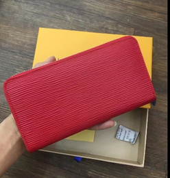 Wholesale Wallet For Women Famous Designer - New designer Fashion Tote AAA Awallet High Quality Leather luxury Men short Wallets Famous Brand for women Men purse Clutch Bags with box