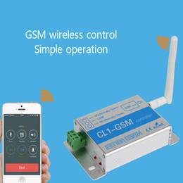 2019 controle remoto de acesso remoto Relé GSM Chamada SMS Controle Remoto GSM Interruptor Portão Abridor para Controle de Eletrodomésticos Bomba de Água Do Motor de Rolamento Da porta do NI5L