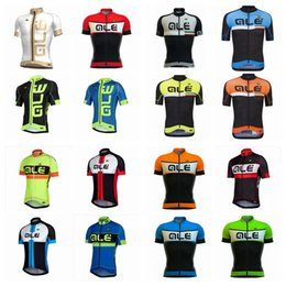 Wholesale Professional Mountain Bikes - 2018 Hot Sale ALE Team Cycling Short Sleeve Jersey Professional Team Summer Sports Mountain Bikes Ropa Ciclismo Outdoor A42104