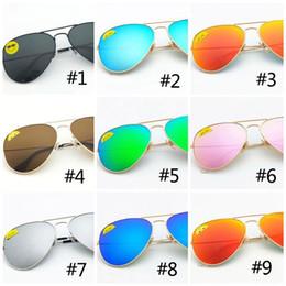 Piloto de lentes polarizados de calidad superior aviador gafas de sol de moda para hombres y mujeres Diseñador de marca Gafas de sol de la vendimia DHL 990001-3 desde fabricantes