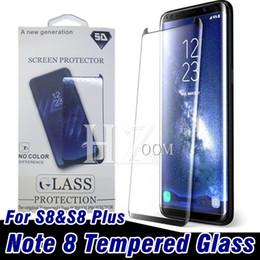 Film de protection d'écran en verre trempé transparent recouvert d'une pellicule transparente pour Samsung Galaxy S9 S9 Plus S8 NOTE 9 8 S7 ? partir de fabricateur