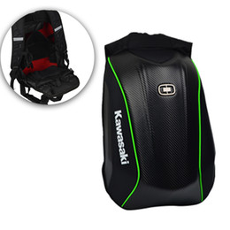 sport carriers Coupons - Hard shell Backpack motorcycle helmet backpacks Carbon Fiber backpack Motocross Racing Riding bag motorcycle outdoor sports bag
