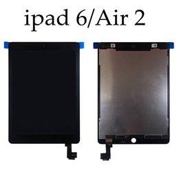 """Pantalla táctil ipad air original online-100% probado 9.7 """"Pantalla original para iPad Air 2 Air2 iPad 6 A1567 A1566 Pantalla LCD con pantalla táctil Asamblea digitalizador + DHL gratis"""