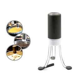 Wholesale Free Cook - Electric Automatic Eggs Speed Stirrer 3 Legged Silicone Hands Free Sauce Pot Home Hotel Kitchen Mixing Cooking Tool