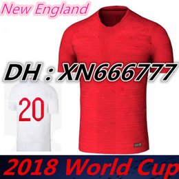 Wholesale Football Uk - 2018 World Cup shirts ROONEY KANE STURRIDGE STERLING 2019 UK soccer Jersey HENDERSON 18 19 England national team Home Away football jerseys