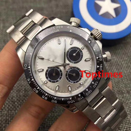 Wholesale Mens Divers - Eveose Gold 116515 AAA Brand Mens Wristwatch Automatic Role mechanical Watch Fashion Luxury 116505 Designer For Reloj Master Rubber Watches