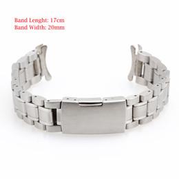 A072 20mm 22mm 24mm Nuevo Reloj de pulsera de Acero Inoxidable Banda de Reloj de Pulsera de Metal Correa de Reloj para Hombre Band Band Watchbands desde fabricantes