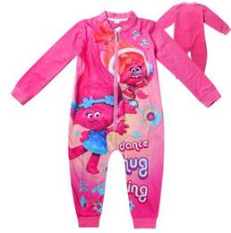 Neue Karikaturentwürfe Baby-Mädchen-Spielanzug-Kleidung-lange Hülse einteilige Produkt-Kleidungs-Pyjamas-Vlies-Decke-Lagerschwellen von Fabrikanten
