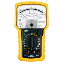 medidor de circuito Rebajas KT7040 alta precisión y sensibilidad carcasa sólida multímetro analógico 7 funciones 20 probador de rango MAX ACDC voltaje hasta 1000V